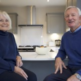 Old Vs New?   For the first residents of Langham Homes' Ashurst Copse development, Alan and Marian Reid, it was no contest