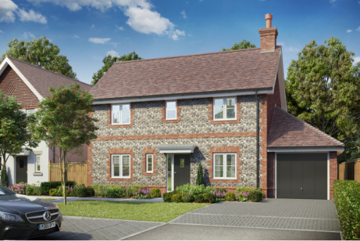 Over 65% Sold Off-plan at Foxglove Meadows, Witley