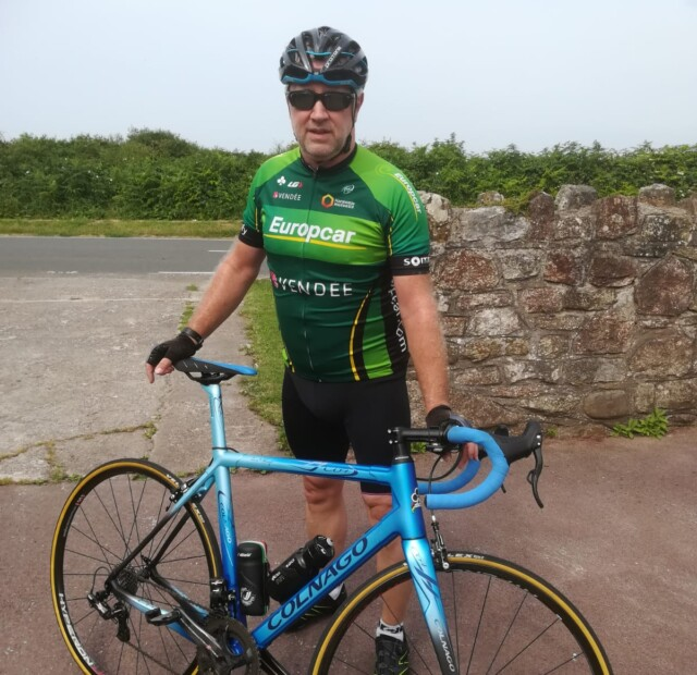 Langham Homes' Supports Ted Reddick on his Monumental Cycle